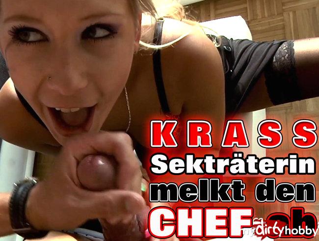 KRASS - Sekretärin melkt den CHEF ab