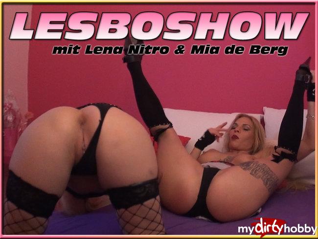 LESBOSHOW mit Lena Nitro & Mia de Berg ***ohne Ton***