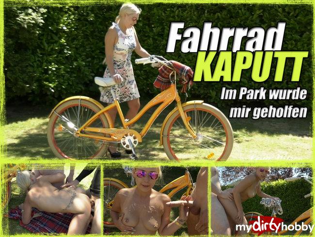 Fahrrad KAPUTT - Im Park wurde mir geholfen