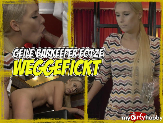 Geile Barkeeper-Fotze WEGGEFICKT